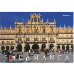 Postal Plaza Mayor Salamanca