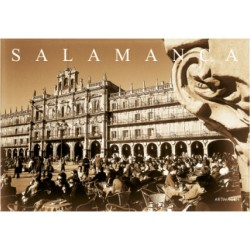 Postal Plaza Mayor Salamanca SEPIA