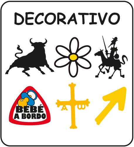 Pegatinas Decorativo