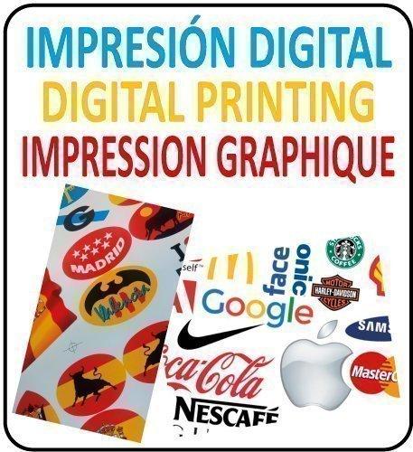 Pegatinas Impresión Digital