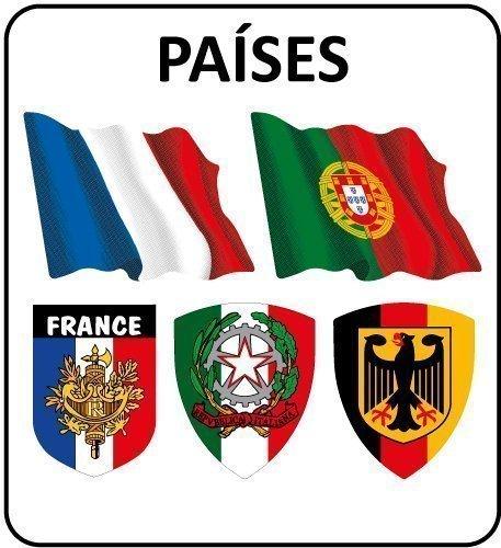 Pegatinas Países