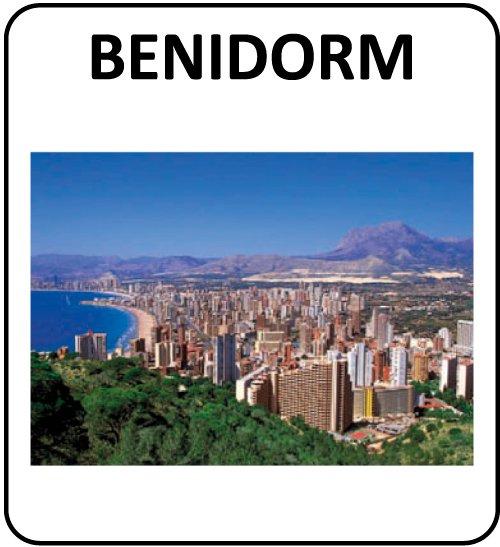 Postales Benidorm